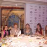To τραπέζι της ελληνικής συμμετοχής στην έναρξη του Συνεδρίου, 24-1-2011