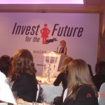 Η Πρόεδρος του Kagider, Dilek Bil, στην έναρξη του Συνεδρίου, 24-1-2011