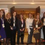 Η ελληνική αποστολή, με την Πρόεδρο της KAGIDER, τη δεύτερη μέρα του Συνεδρίου, 25-1-2011