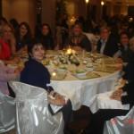 Στο δείπνο της δεύτερης μέρας: Στο τραπέζι με την Πρόεδρο του KAGIDAR, την Πρέσβειρα των ΗΠΑ για τα Διεθνή Γυναικεία Θέματα, και την ομιλήτρια της βραδιάς, κα Ratchel Kyte, 25/1/2011