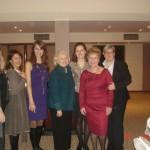 Έφη Καρακίτσου, Μαρίνα Λεωνιδοπούλου, Λιάνα Γούτα, Ambassador Melanne Verveer, Δέσποινα Αμαραντίδου, Αλέκα Πίττα, Rachel Kyte, 25-1-2011
