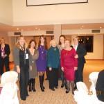 Στο δείπνο της 25-1-2011 με την Πρέσβειρα των Διεθνών Γυναικείων Θεμάτων των ΗΠΑ, Melanne Verveer. Έφη, Μαρίνα, Λιάνα, η πρέσβειρά Melanne Verveer, Δέσποινα, Αλέκα και η επίσημη ομιλήτρια της βραδιάς, Rachel Kyte,