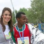 Με τον νικητή του Μαραθωνίου Baraki Mehrabi