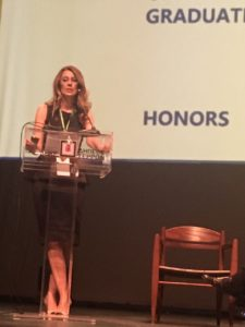 """Ομιλία Λιάνας Γούτα στο πάνελ """"Women in Leadership - Overcoming obstacles in a challenging region"""""""