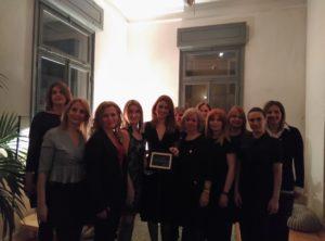 Με τα μέλη της Συντονιστικής ομάδας, με τα οποία συμπορευτήκαμε επί 7 χρόνια, με κέφι και δημιουργικότητα!